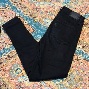 Levi Skinny High Waist Black